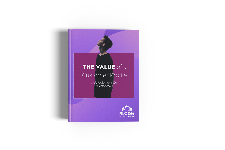 value of customer profiles book copy
